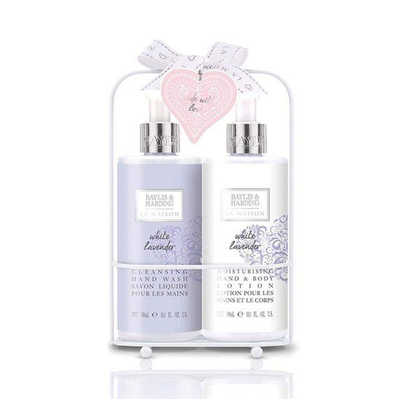 Baylis-Harding-La-Maison-White-Lavender-2-Bottle-Set-in-Rack