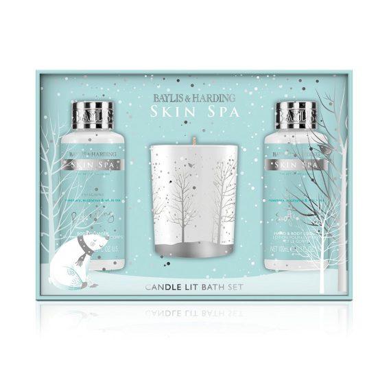 Baylis & Harding Skin Spa Candle Lit Bath Gift Set