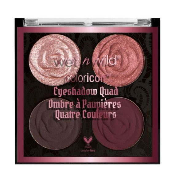 Rebel Rose Color Icon Eyeshadow Quad Bed Of Roses 1
