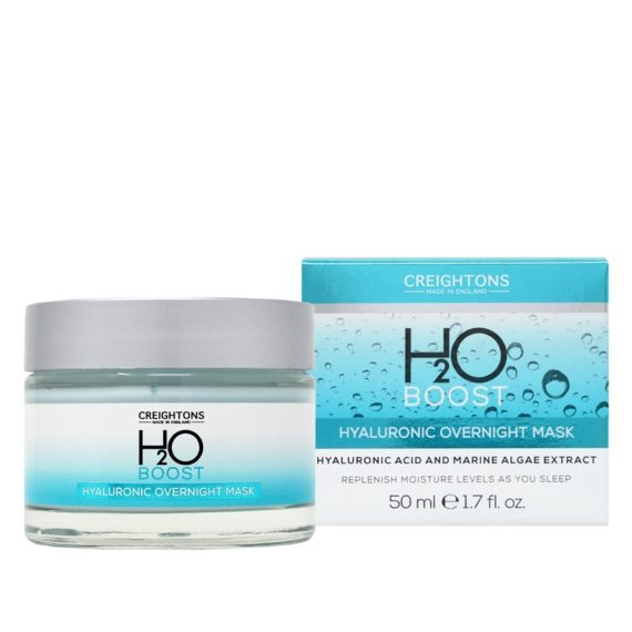 CREIGHTONS H2O BOOS HYALURONIC OVERNIGHT MASK 50ML