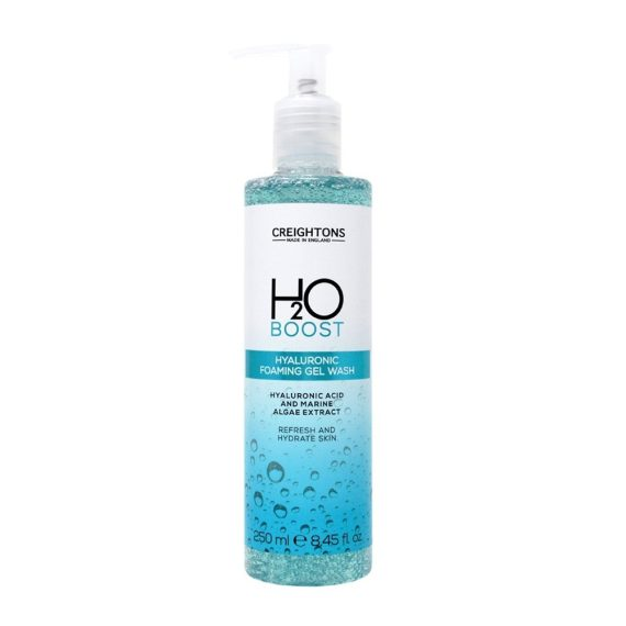 CREIGHTONS H2O HYALURONIC FOAMING GEL WASH 250ML
