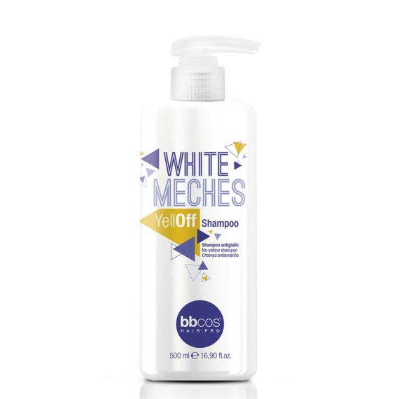 bbcos white meches yelloff shampooo 500ml-s